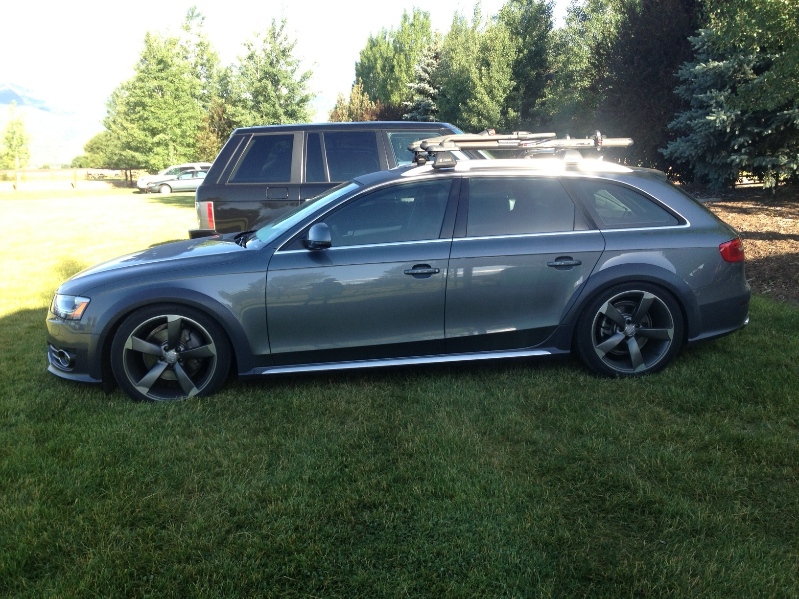 Quattroworld forums b8 a4 allroad 2009 present since i posted last ive added tint 50 front 35 the rest bike racks st coilovers and a bunch of vagcom mods overall really enjoying the car more sciox Gallery